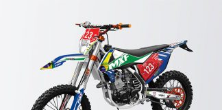 MXF 250RXi Divulgação MXF Motors