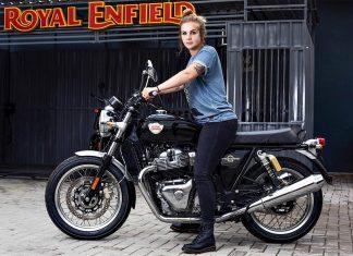 Bruna Wladyka, empresária, produtora e pilota. Correrá no Flat Out Friday - Flat Track, nos EUA