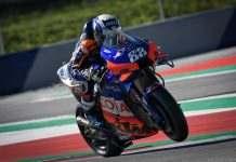 O piloto português Miguel Oliveira vence pela primeira vez na MotoGP