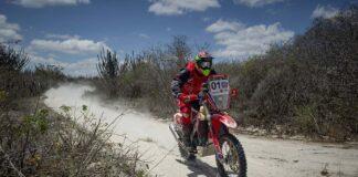 Tunico Maciel, da equipe Honda Racing, vence a 22ª edição do Rally RN 1500 2020. Crédito: Doni Castilho/Mundo Press